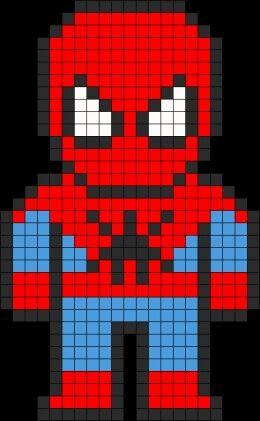 Pixelated Spiderman #TheAmazingSpiderman #Spiderman
