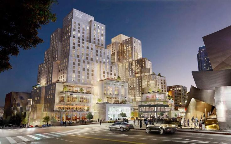 Long-Awaited Grand Avenue Project by Gehry Partners to Begin Construction,via Los Angeles County Board of Supervisors