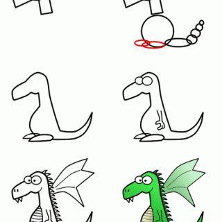 Hayvan Resimleri Nasıl Çizilir? 61
