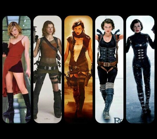 Resident Evil Alice really wanna cosplay her one day.
