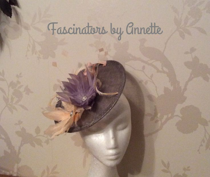 A personal favourite from my Etsy shop https://www.etsy.com/uk/listing/515343019/nude-and-grey-fascinator-on-headband