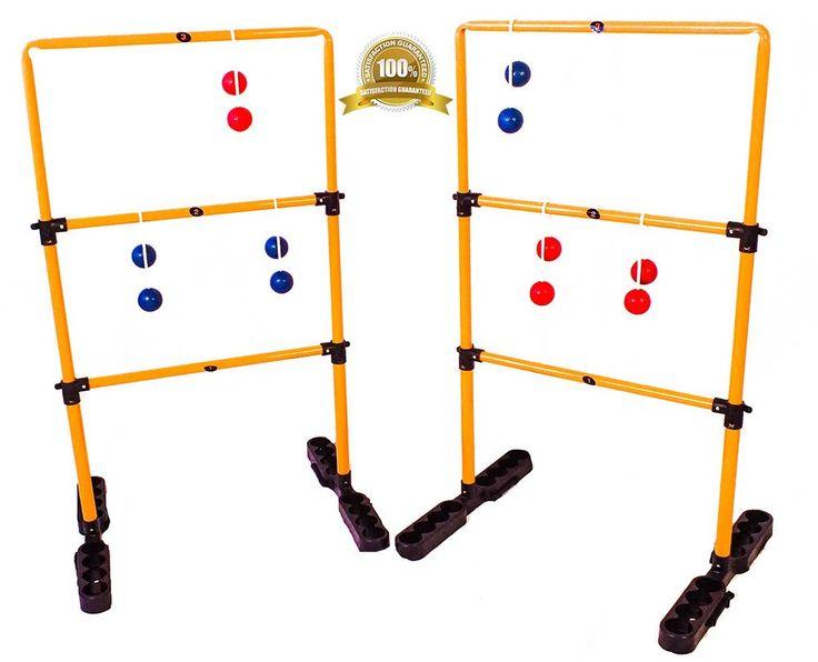 Ladder Golf Game   Ladder Toss   Ladder Ball   Outdoor Game Metal Stand ...  COUPON CODE INSIDE