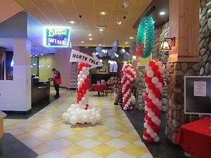 More beautiful balloon decor examples...