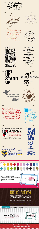 Vinilos Frases Y Decoraciones En Paredes Diseños Nuevos!!! - $ 220,00 en MercadoLibre