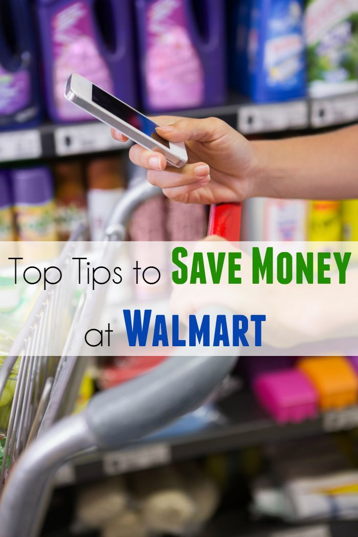 Top Tips to Save Money at Walmart - use these tips to save money when shopping at Walmart - reduce your grocery spending