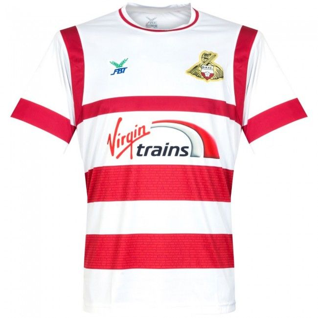 Camiseta del Doncaster Rovers FC 2017-2018 Local #fashion #camiseta #fútbol #DonnyThe Rovers