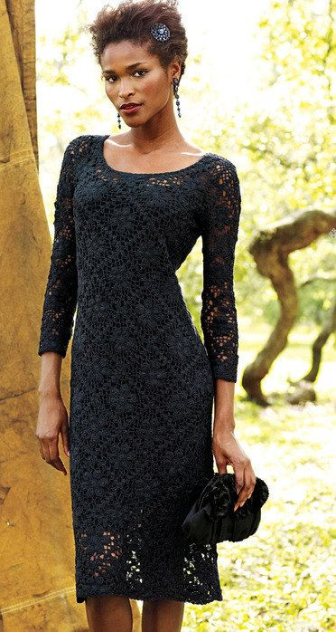 MADE TO ORDER  Crochet Dress  custom made hand made by Irenastyle, $499.00