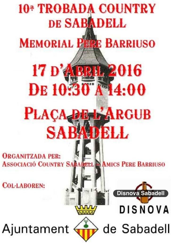 10a. Trobada de Country - Sabadell  (diumenge 17 abril 2016)