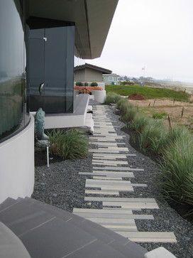 Modern Beach Vision contemporary landscape