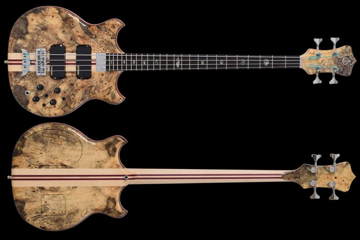 Alembic Stanley Clarke Deluxe 4 - High End Bass Guitar Gear in Minneapolis, Minnesota, USA