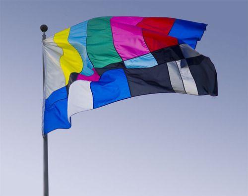 Color bar flag