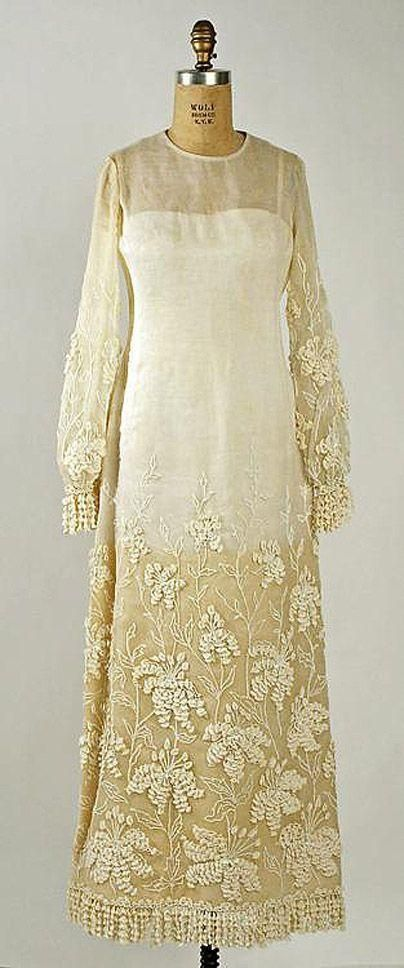 Свадебные платья — 1964 г. Marc Bohan для Dior.