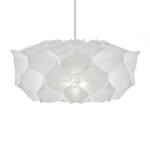 Artecnica -Phrena square taklampe-1359kr Karl Zahn   Materiale: Tyvek   Max.60 W   Eksl. fatning & pære   Ø71 x H46 cm