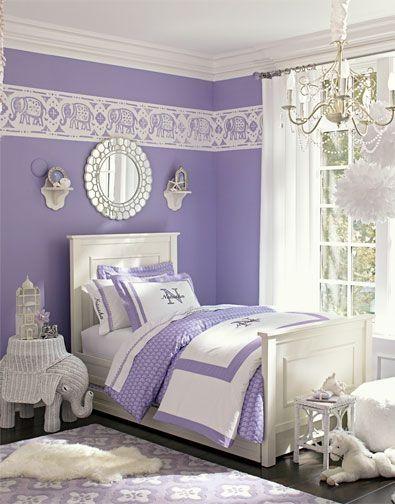 Best 25+ Purple girl rooms ideas on Pinterest   Girl room decor ...