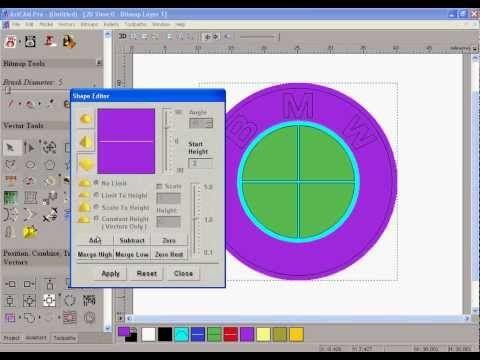 ArtCam Pro > artCAM SPECIAL TUTORIAL