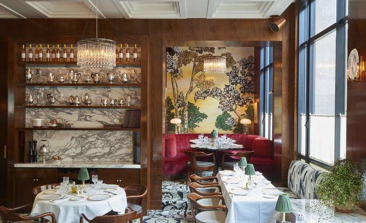 Le restaurant italien Noto à Paris salle Pleyel