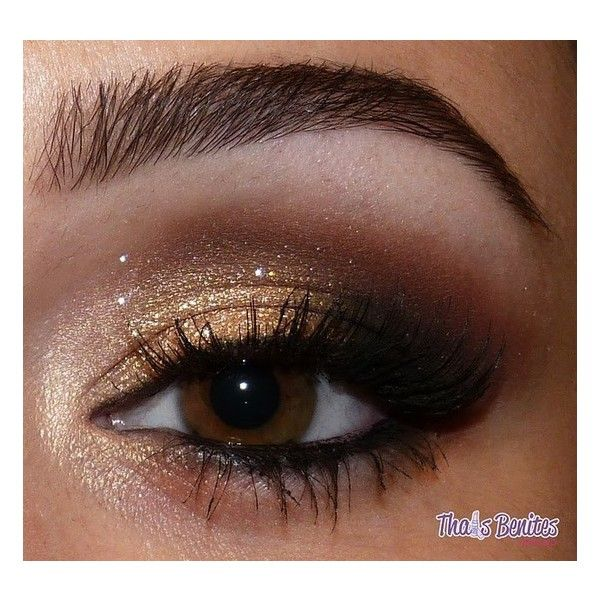 Pink Chocolate Break 20 Make Up Looks For Brown Eyes found on Polyvore