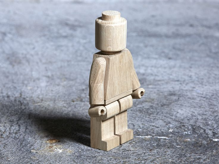 We have had fun in the workshop and made this little guy :-) yet still 17 cm. high and has removeable arms...