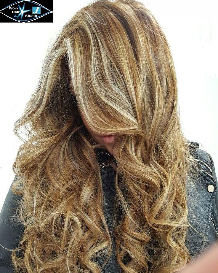 Degradé!!!!! Gradazioni e sfumature con capelli lunghissimi.