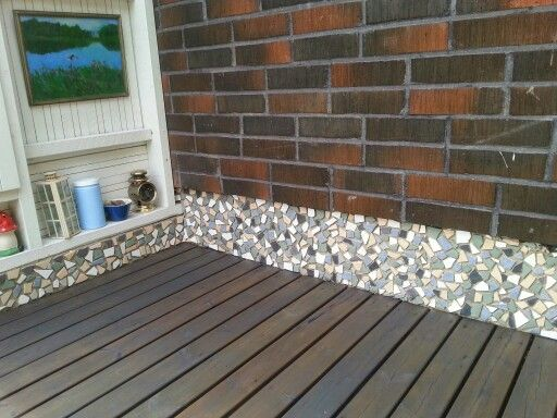 Mosaicwall  on my balcony