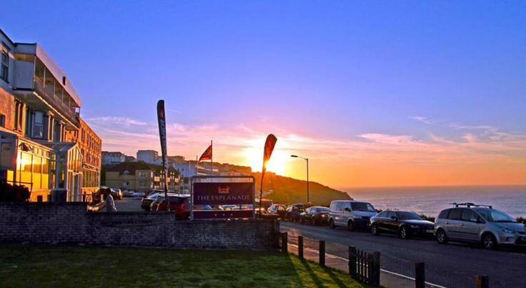 Esplanade Hotel Newquay Overlooking Fistral Beach with stunning Atlantic views, the Esplanade Hotel has an indoor child-friendly swimming pool, a spa bath, and a sauna. Fresh, local produce can be enjoyed in the hotel's Ocean View Restaurant.