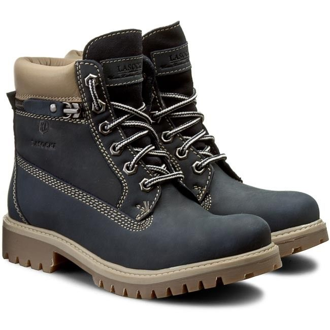 Turistická obuv LASOCKI - WI20-ASPEN-05 Tmavomodrá