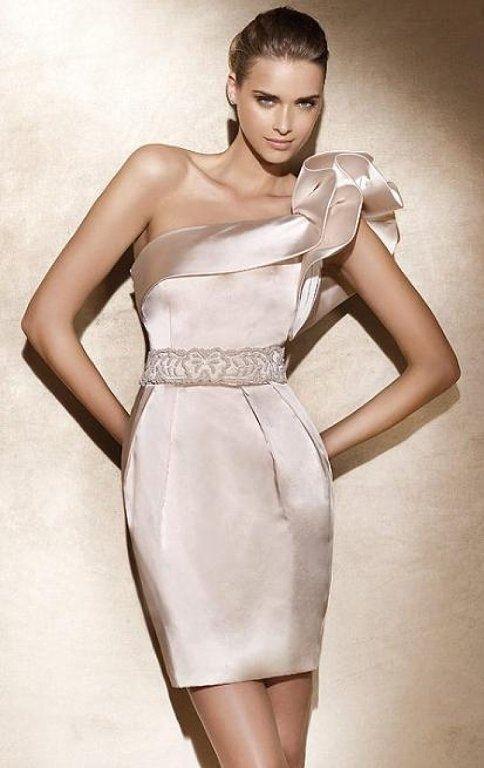 Vestidos cortos para novias   Preparar tu boda es http://facilisimo.com