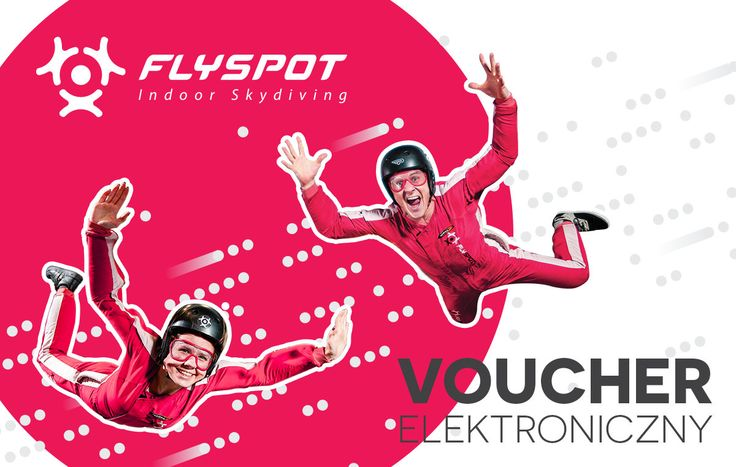 Adult Starter - voucher elektroniczny - Vouchery - FLYSPOT STORE - Warsaw Indoor Skydiving