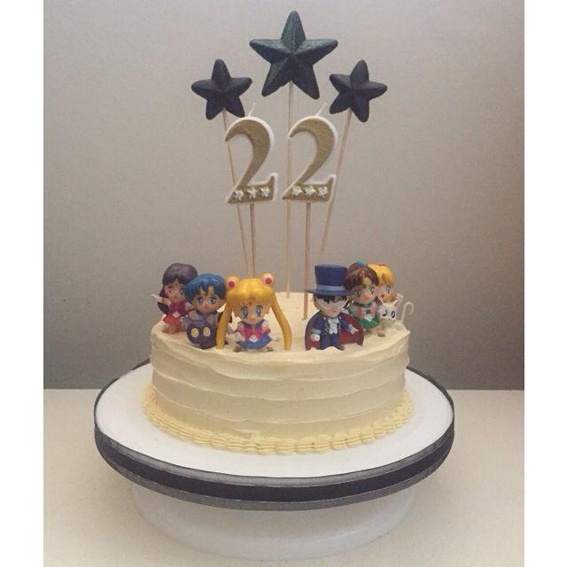 Happy Birthday to ME! Sailor Moon Cake ⭐️⭐️⭐️