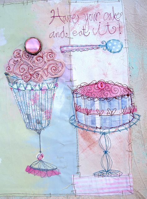 Have your cake and eat it! by priscilla jones, via Flickr