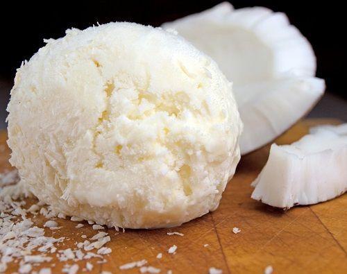 cách làm kem trái dừa 4