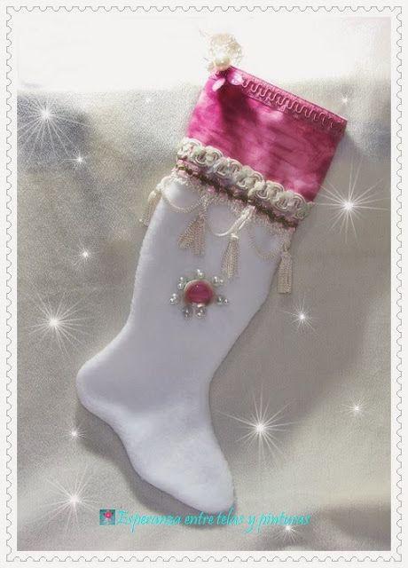 Bota de Navidad Tilda