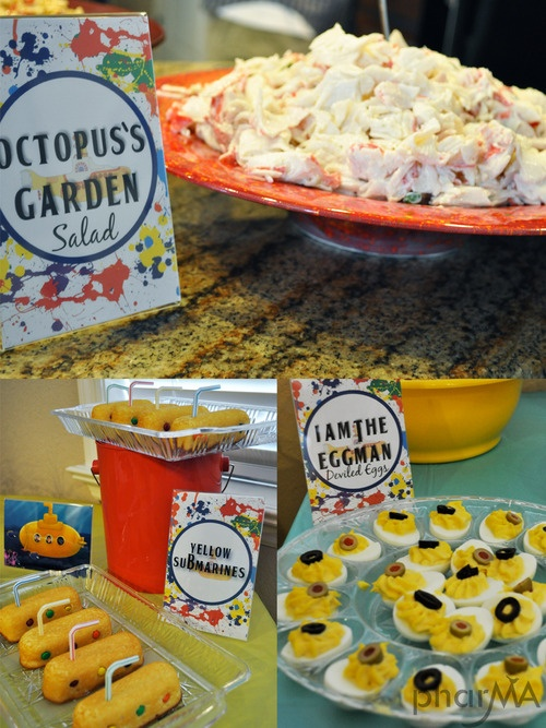 Beatles Party food @The Pharma Blog