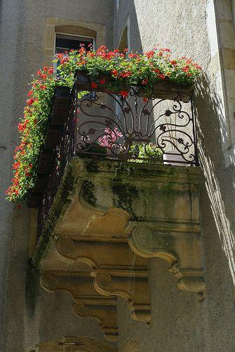 Balcony in Metz