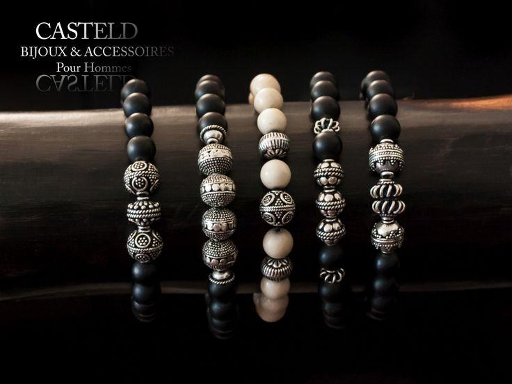 CASTELD Bracelets pour Homme Une Attitude… #bracelethomme #style #tendance http://www.casteld.com/bijoux-homme