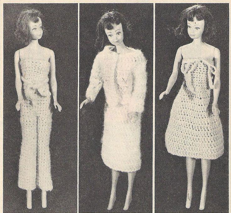 408 Best Barbie Crochet Images On Pinterest Crochet Granny