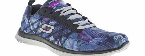 Skechers Multi Flex Appeal Floral Bloom Trainers Show some Flex Appeal with your feet this summer as the Floral Bloom trainer arrives from Skechers. Dressed in a multi-coloured fabric upper, a tropical floral print adorns in cool tones of blue and p http://www.comparestoreprices.co.uk/womens-shoes/skechers-multi-flex-appeal-floral-bloom-trainers.asp