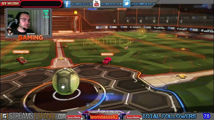Rocket League LIVE Español @georgexcv #Streams #juegos #twitch #GAMEPLAY...