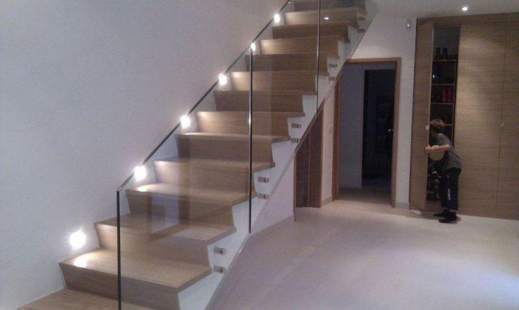 Revestimiento de madera para escaleras escaleras pinterest - Revestimiento para escaleras ...