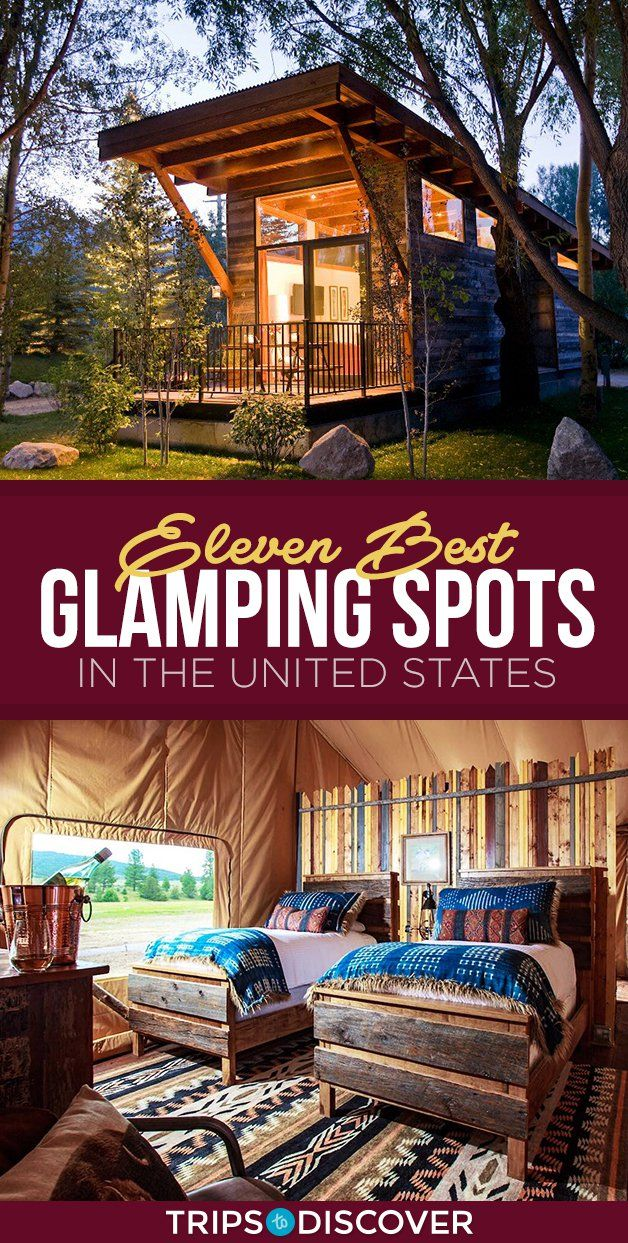 11 of The Finest Glamping Websites in The USA For a Totally different Form of Weekend Getaway
