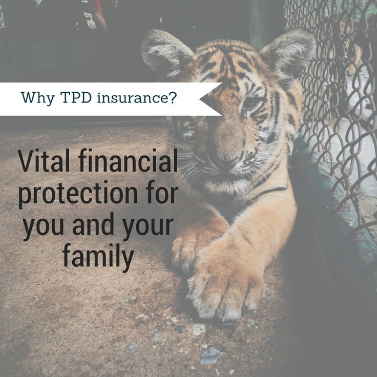 Think about how TPD may work for you? #1  #tpd #insurance #financial #protection #avantefs   www.avantefinancial.com.au