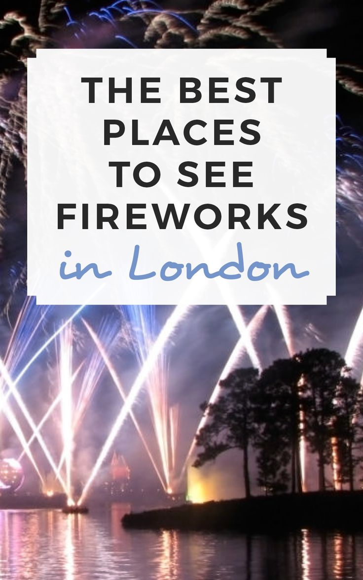 The best places to see fireworks in London this autumn! / Sophie's Suitcase