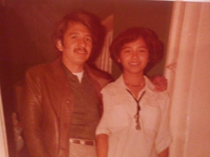 Irma y mi papi