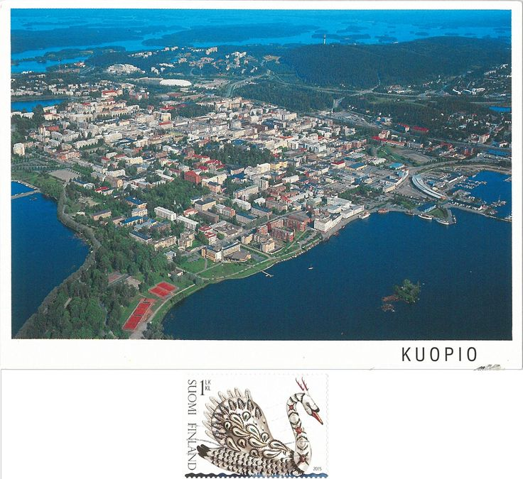 Swap - Arrived: 2017.12.04   ---   Kuopio is a city in Northern Savonia, Finland. Kuopio has a total area of 2,775.73 square kilometres, of which 719.85 km2   is water and half is forest.