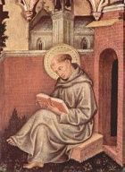 Dominican friar and theologian. St Thomas was born to a noble family at Rocca Secca near Aquino. He was educated from the age of five to thirteen at St Benedict's monastery at Monte Cassino. He then studied at the University of Naples for five years, where he met the Dominicans and decided to join their order. His family were so upset by this they imprisoned him for fifteen months in an effort to make him change his mind. They failed.