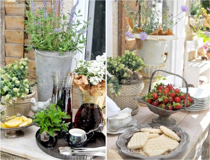 Outdoor Decorations For Wedding Shower : Best images about garden themed bridal shower ideas on