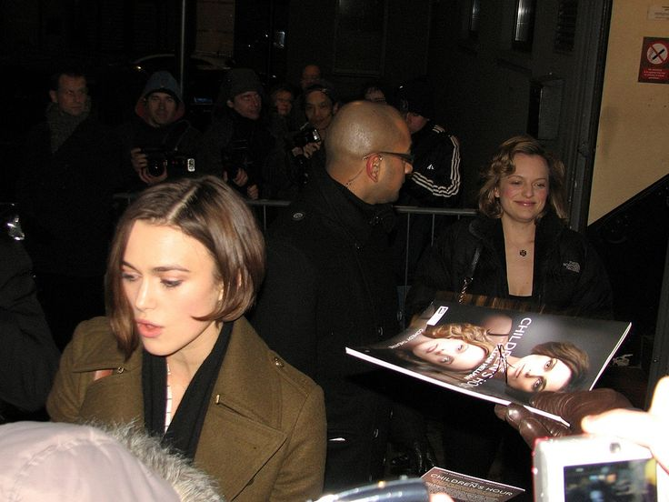 """Keira Knightley & Elizabeth Moss 