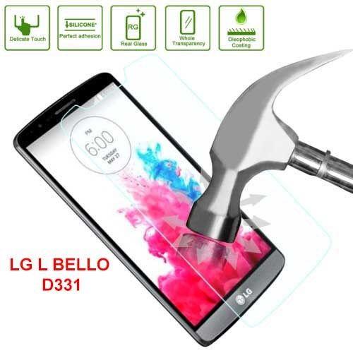 Protector de Pantalla Vidrio CRISTAL TEMPLADO Para LG L Bello D331 - http://complementoideal.com/producto/protector-de-pantalla-vidrio-cristal-templado-para-lg-l-bello-d331/  -   Características Protector Pantalla de Cristal Templado Para LG L Bello D331 de 0,26mm de grosor. Con este resistente cristal protegerás tu pantalla de todo tipo de golpes y ralladuras. Absorbe los golpes protegiendo tu pantalla de caídas. Fácil instalación y lo puedes quitar en cualquier mome...