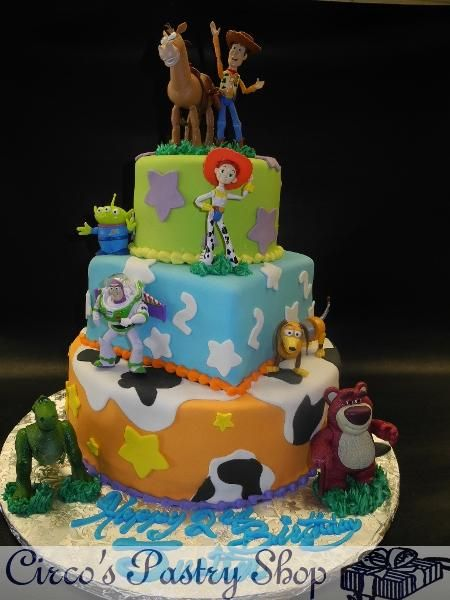 How To Make Toy Story Fondant Cake Google Search Toy