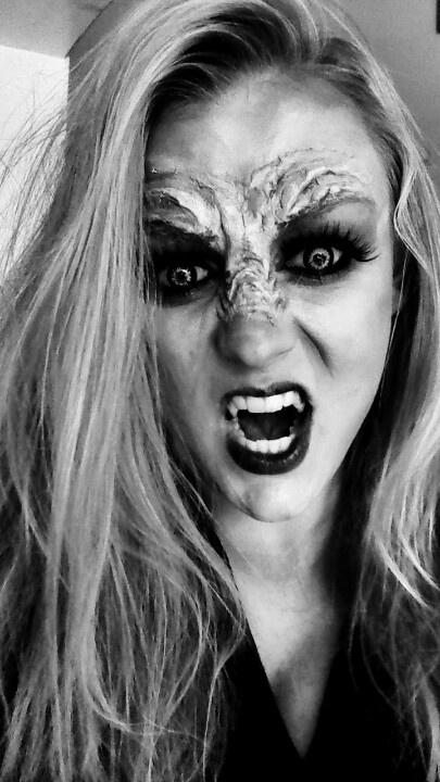 27 best werewolves images on Pinterest | Make up, Halloween ...